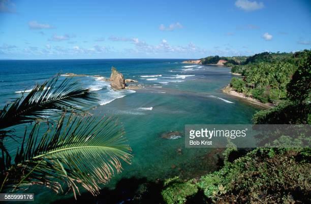 atlantic coast of dominica - dominica fotografías e imágenes de stock