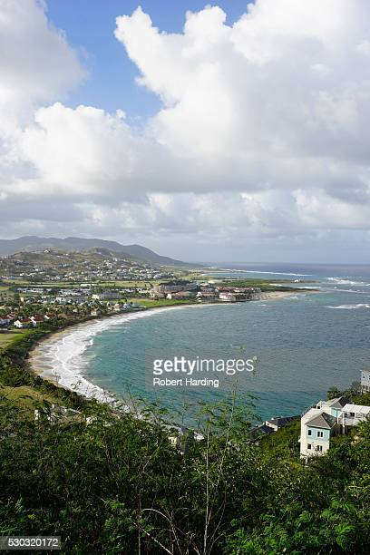 atlantic coast, st. kitts, st. kitts and nevis, leeward islands, west indies, caribbean, central america - st. kitts stock photos and pictures