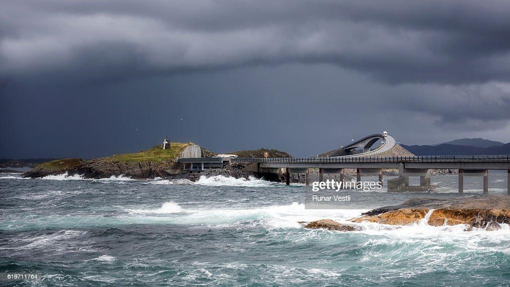 Atlantic Ocean Road : Foto de stock