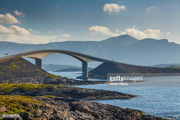 Atlantic Ocean Road Storseisundbrua Bridge Norway