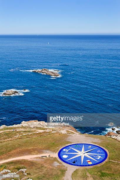 Atlantic Ocean view from the Tower of Hercules, A Coruña (Galicia, Spain)