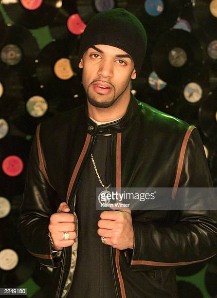 Atlantic recording artist Craig David filming the video for his new single 'Fill Me Up' in Los Angeles Ca 2/2/01 The video costars Nichole Gilpin and...