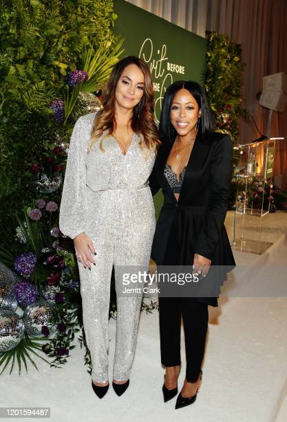 Atlantic Records EVP Urban Promotion Juliette Jones and Roc Nation CoPresident Shari Bryant attends Grit Before The Gram A Soundtrack To Our...
