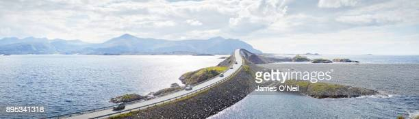 Atlantic Road panoramic, Norway
