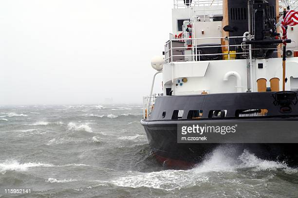 atlantic storm - coast guard stock pictures, royalty-free photos & images