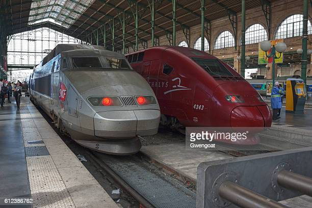 TGV Atlantique and Thalys in Gare du Nord