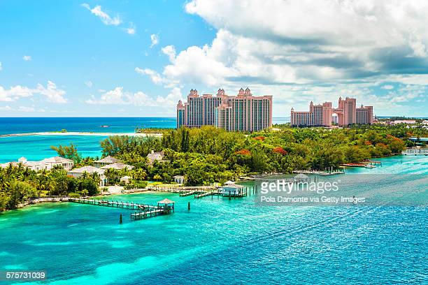 Atlantis Caribbean beach resort at Nassau, Bahamas