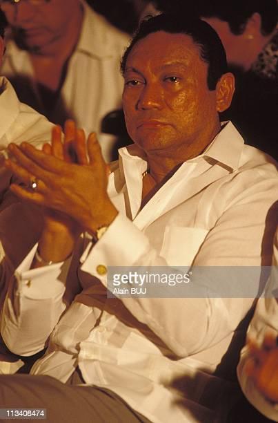 Atlapa Manuel Antonio Noriega On May 18thIn Panama