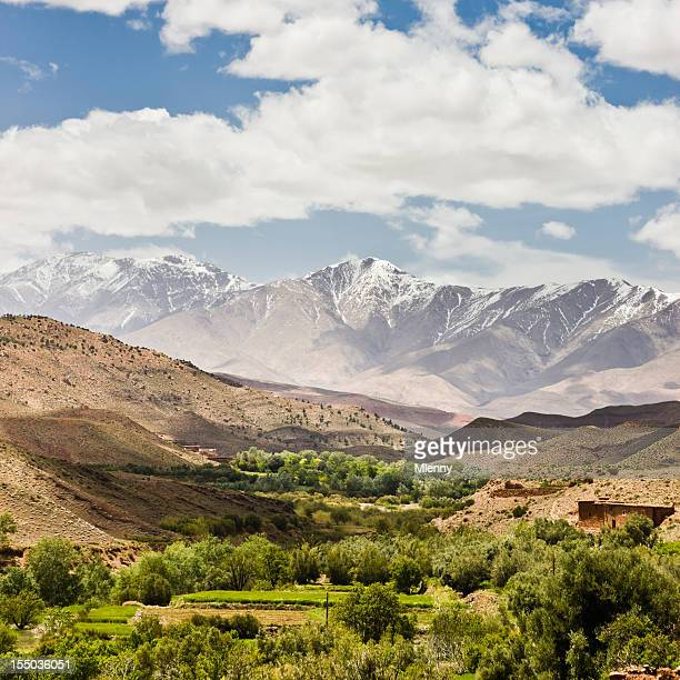 Atlas Mountains Errachidia Oasis Morocco