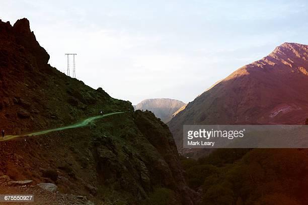 Atlas mountains valley