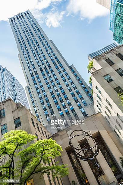 Atlas sculpture at the Rockefeller Center in New York
