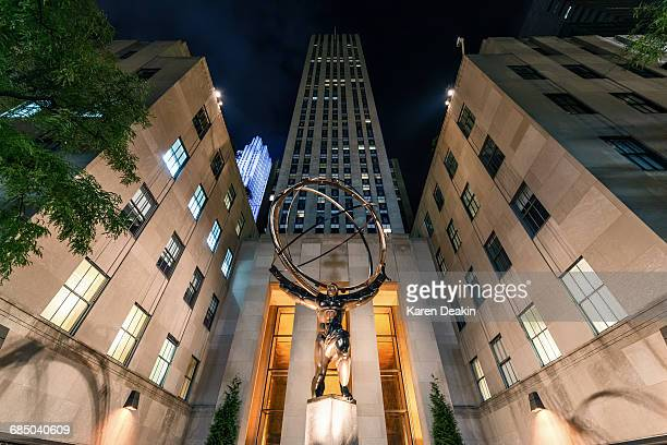 Atlas Statue, Rockerfeller Centre, New York City, USA