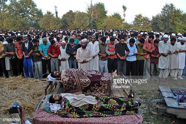 Atleast six civilians were killed by Indian police without in Palhalan Kashmir.