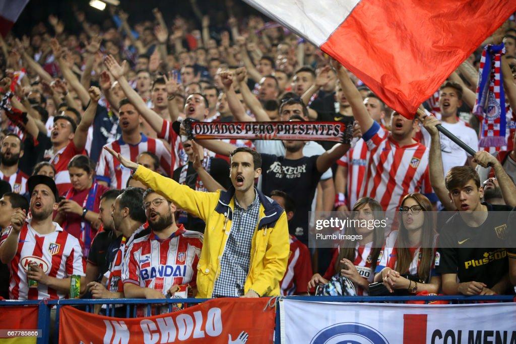 Club Atletico de Madrid v Leicester City - UEFA Champions League Quarter Final: First Leg : News Photo