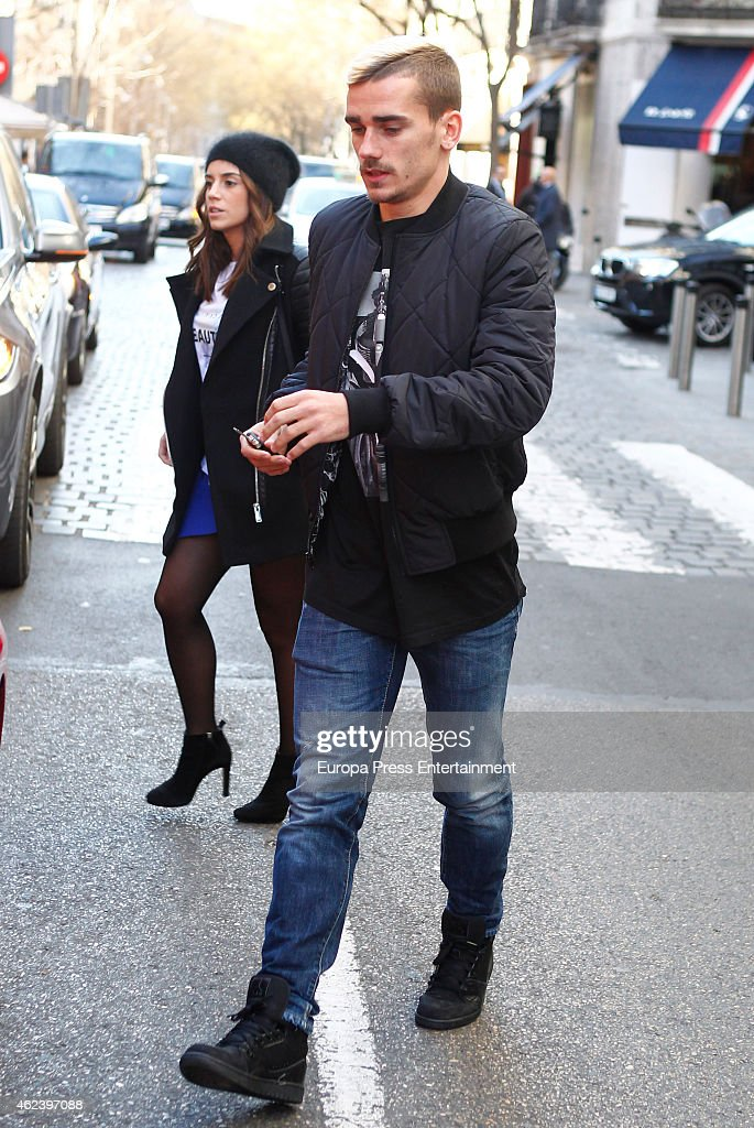 Celebrities Sighting In Madrid - January 27, 2015