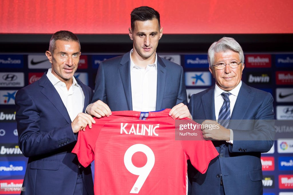 Atletico de Madrid New Signing Arias And Nikola Kalinic
