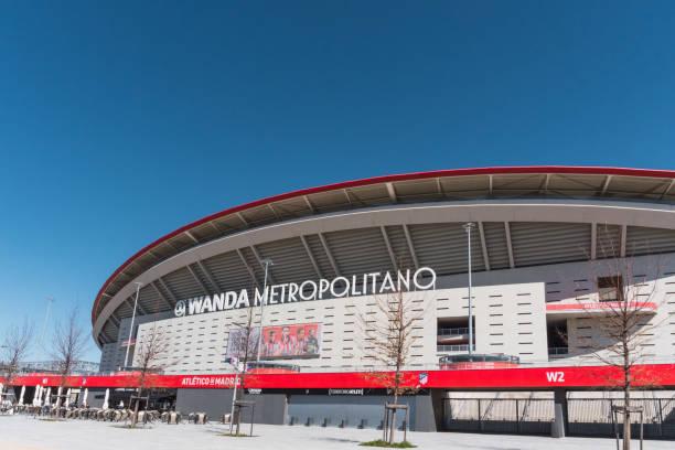 Atletico de Madrid Wanda Metropolitano Stadium