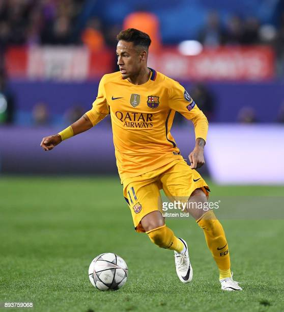 331 Neymar Vs Atletico Madrid 2016 Photos And Premium High Res Pictures Getty Images