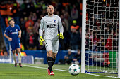 londonengland atletico madrid gk oblak during