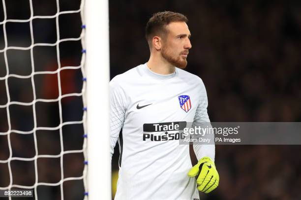 Atletico Madrid goalkeeper Jan Oblak