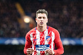 londonengland atletico madrid jos giménez during