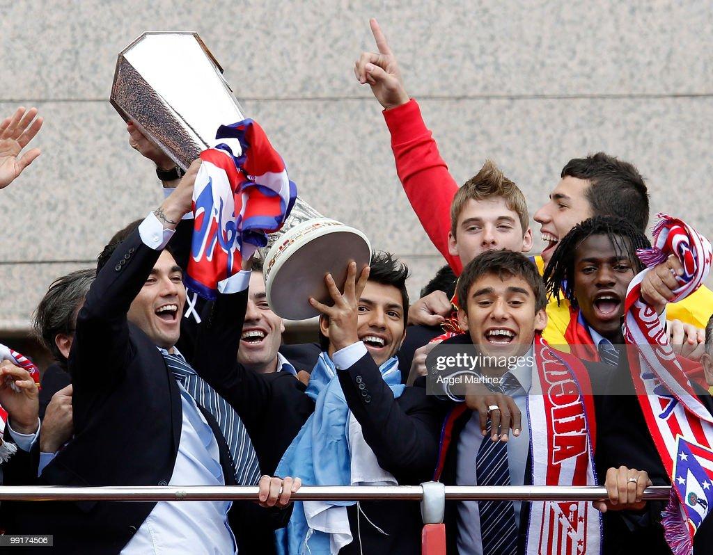 Atletico Madrid UEFA Europa League Celebrations
