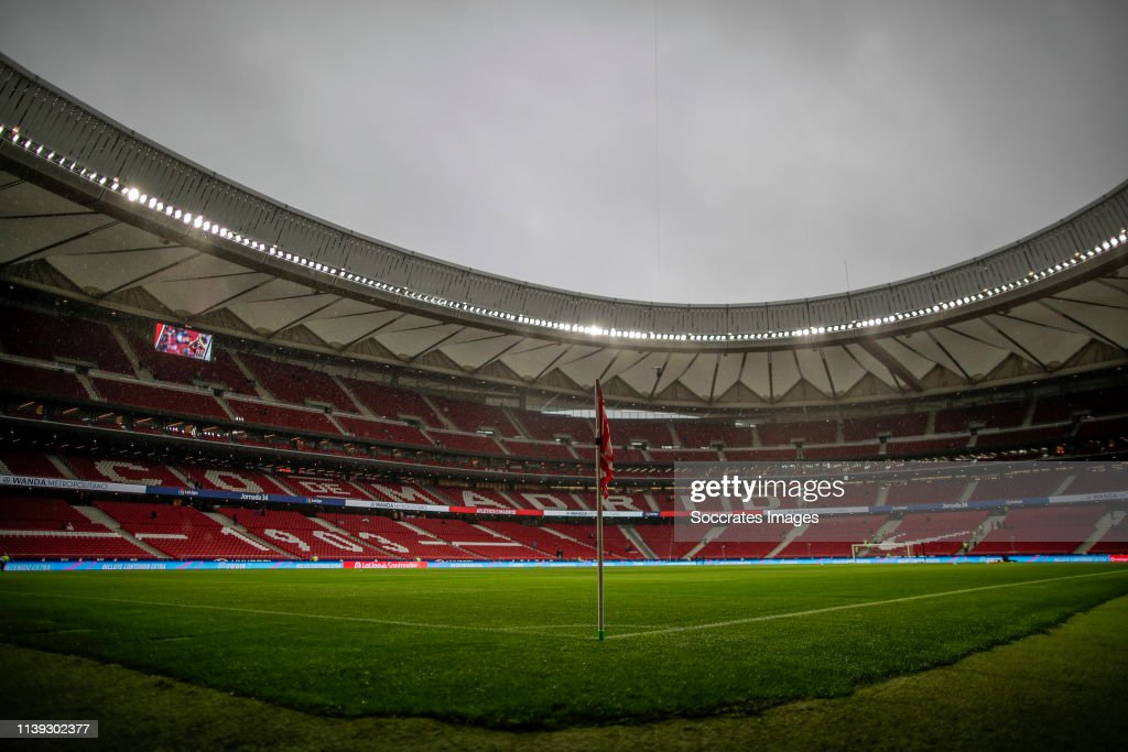 Atletico Madrid v Valencia - La Liga Santander : News Photo