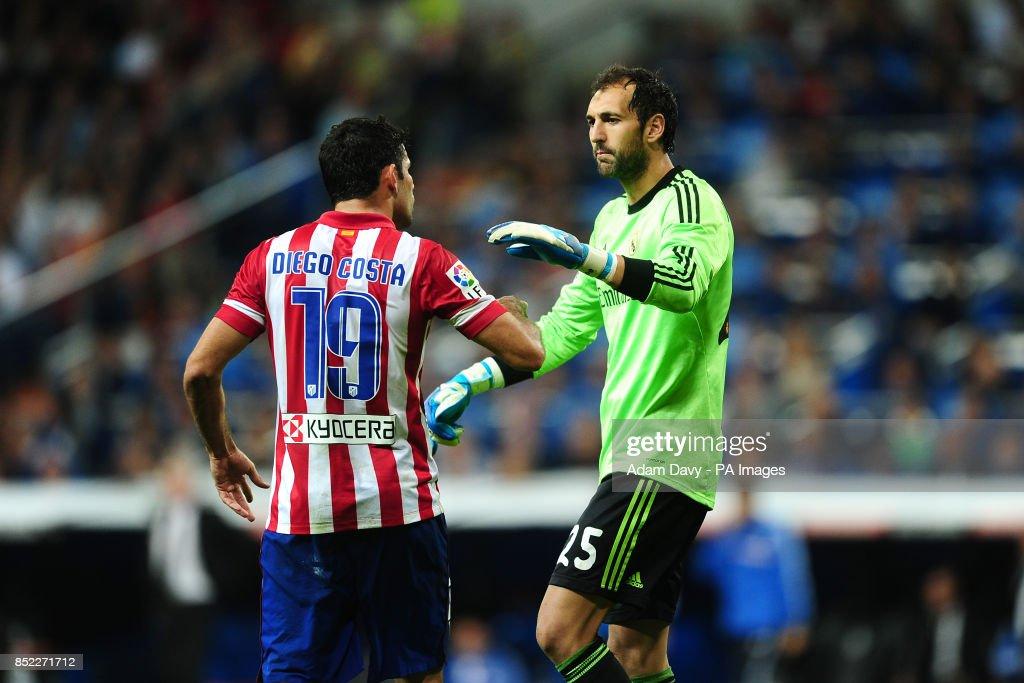 Soccer - La Liga - Real Madrid v Atletico Madrid - Santiago Bernabeu : News Photo