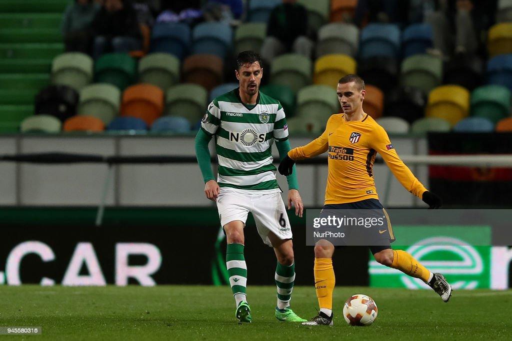 Sporting CP v Atletico Madrid - UEFA Europa League Quarter Final Leg Two