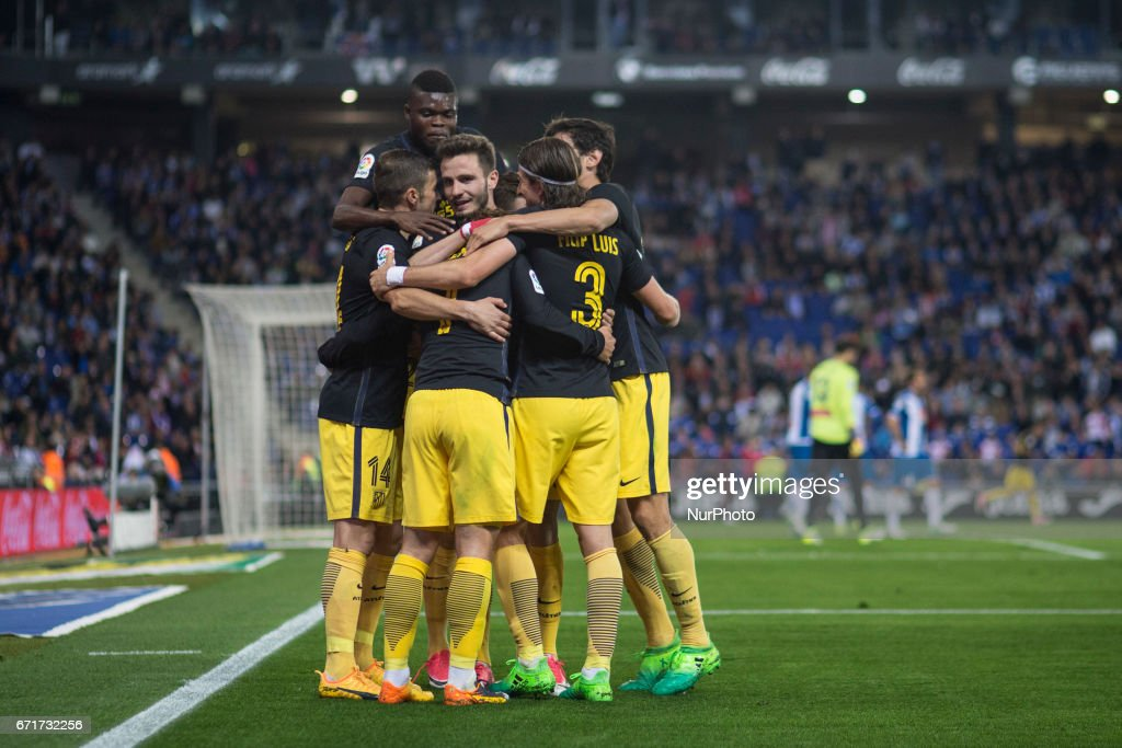 RCD Espanyol v Club Atletico de Madrid - La Liga : Fotografía de noticias