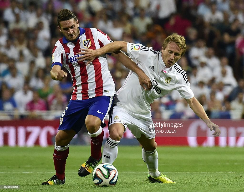 FBL-ESP-SUPERCOPA-REALMADRID-ATLETICO : News Photo