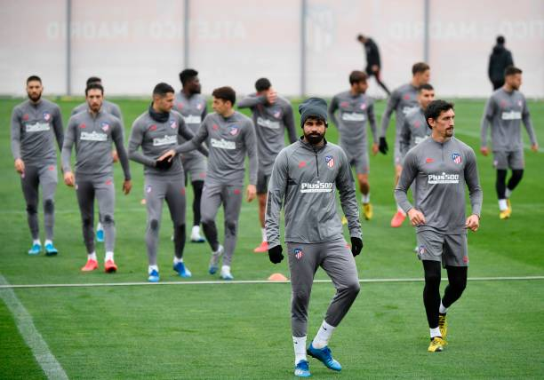 ESP: Atletico Madrid Training Session and Press Conference