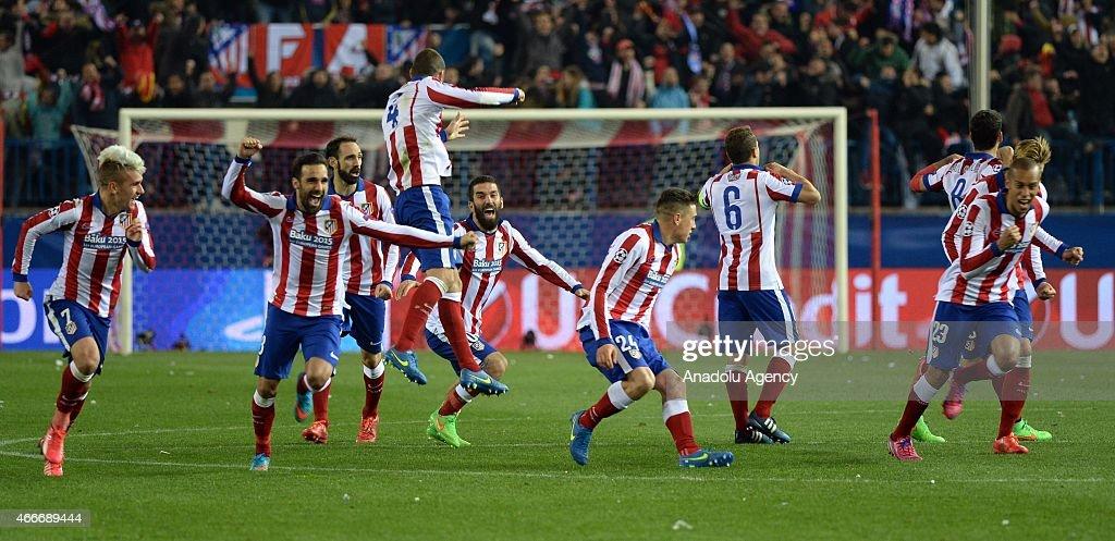 Atletico Madrid vs Bayer Leverkusen: UEFA Champions League : News Photo