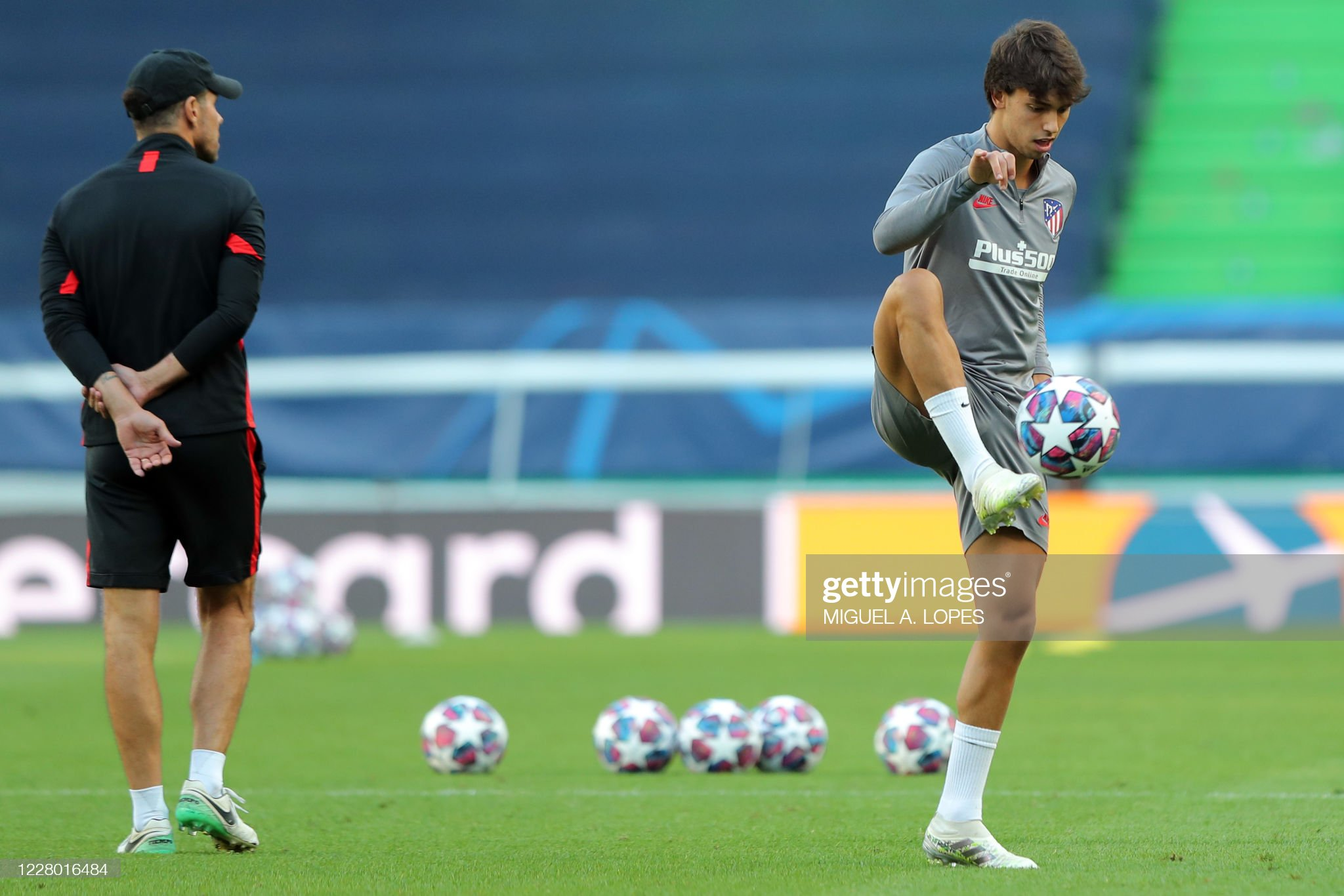 FBL-EUR-C1-ATLETICO MADRID-TRAINING : News Photo