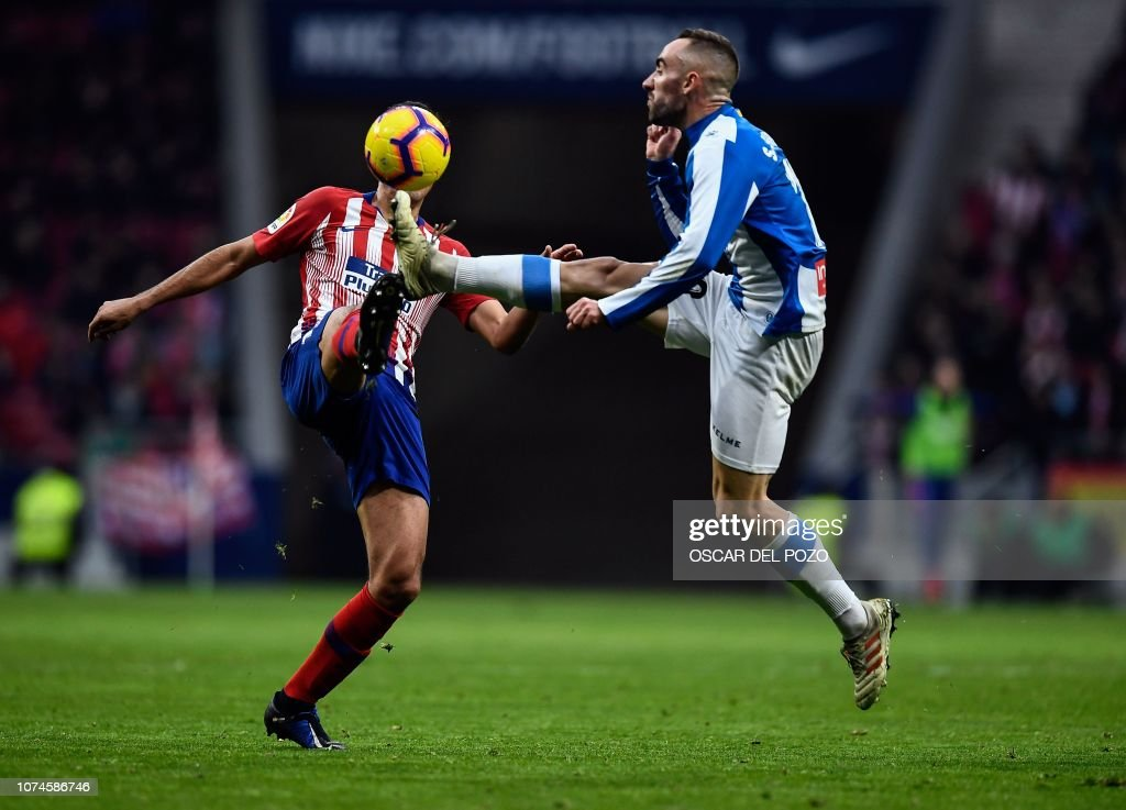FBL-ESP-LIGA-ATLETICO-ESPANYOL : News Photo