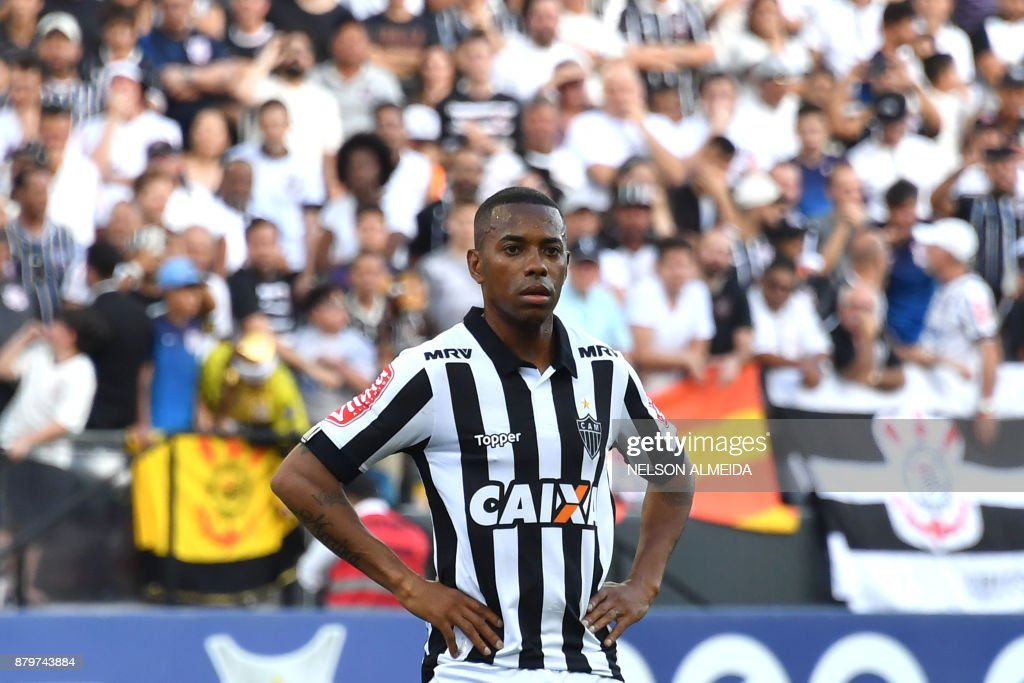 FBL-BRAZIL-CORINTHIANS-ATLMINEIRO : News Photo