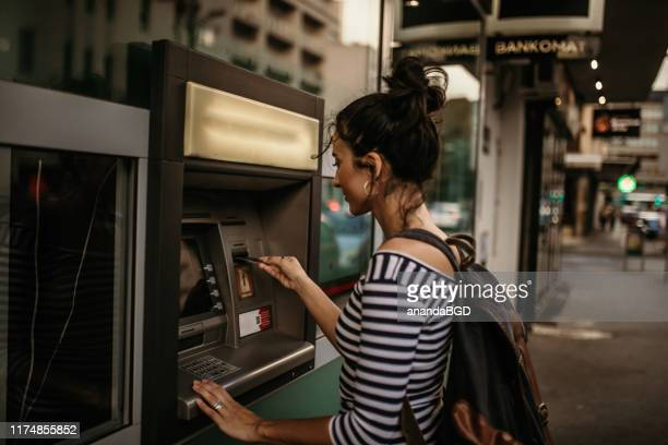 atm - bank account stock pictures, royalty-free photos & images