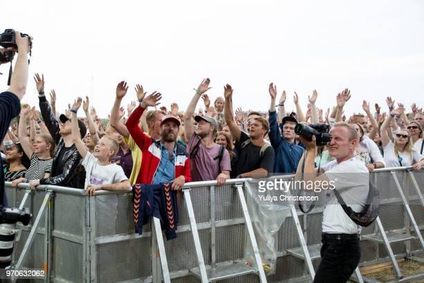 Atmospher at the Northside Festival on June 9 2018 in Aarhus Denmark