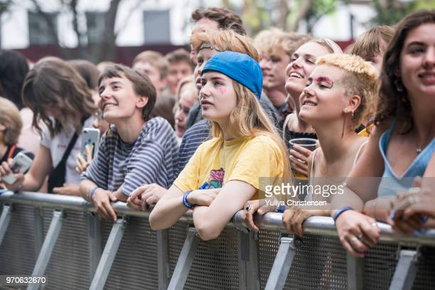 Atmospher during Rex Orange County at the Northside Festival on June 9 2018 in Aarhus Denmark