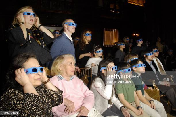 Atmosphere and 3D glasses attend SUPER BOWL Party at The Oak Room on February 1 2009 in New York City
