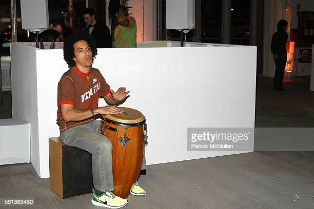 Atmosphere and Bongo Boy attend Nike's Ginga A Celebration of Culture and Sport Brought to Life Through the 2005 Nike Summer Collection at Exit Art...