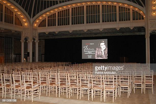 Atmosphere and Screening attend Vanity Fair Editor Graydon Carter and Saks Chairman CEO Fred Wilson host a private screening of Eleanor Godmother of...