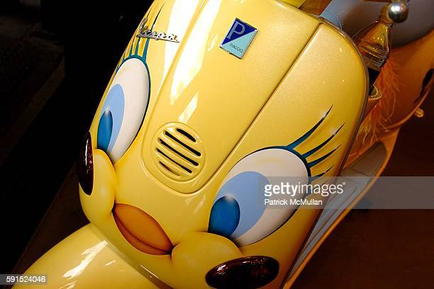 Atmosphere and Vespa attend WARNER BROS CONSUMER PRODUCTS 'TWEETY' Launch Party with Scoop NYC at Scoop NYC on May 18 2005