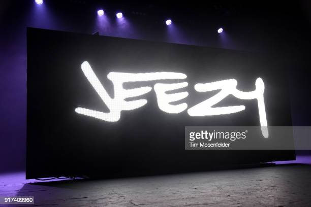 Atmosphere as Jeezy performs during the 'Cold Summer Tour' at Ace of Spades on February 11 2018 in Sacramento California