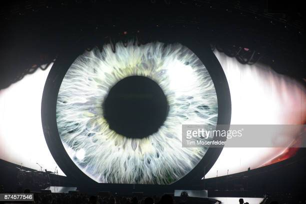 Atmosphere as Katy Perry performs during her Witness tour at SAP Center on November 14 2017 in San Jose California
