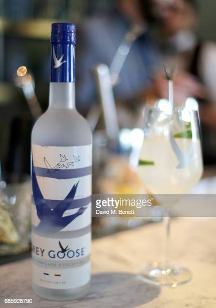 Atmosphere as Naomi Campbell hosts a poolside press conference for Fashion for Relief at Versini GREY GOOSE popup on May 20 2017 in Cannes France