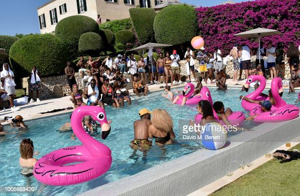 Atmosphere as Spotify Premium throws the ultimate party in Spain for Stormzy's 25th birthday on July 26 2018 in Menorca Spain