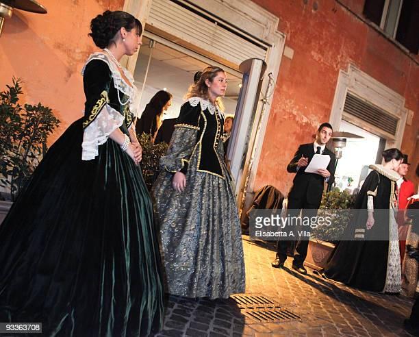 Atmosphere at '2009 Margutta Awards' at Margutta RistoArte on November 24 2009 in Rome Italy
