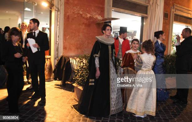 Atmosphere at '2009 Margutta Awards' at Margutta RistorArte on November 24 2009 in Rome Italy