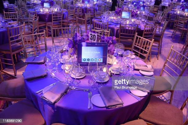 Atmosphere at 22nd Annual Collaborating For A Cure Gala Benefiting The Samuel Waxman Cancer Research Foundation on November 21 2019 at Cipriani Wall...